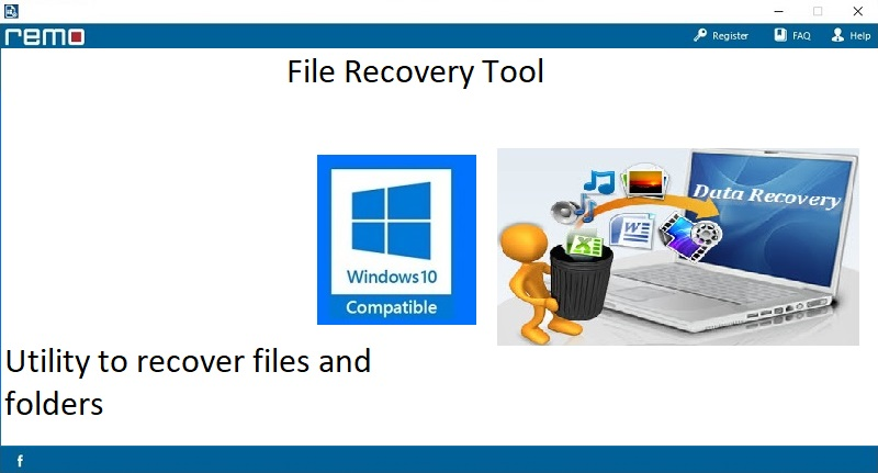 Recover deleted or lost files from Windows